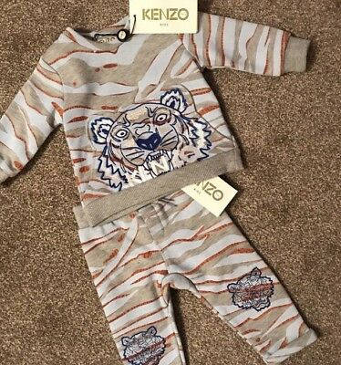 Boys Baby Kenzo Track Suit Age 9 Months Brand New With Tags RRP £95