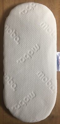 Original Moba Quilted Breathable Moses Basket Spare Mattress New Condition