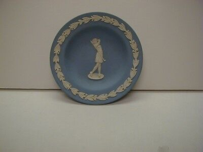 Wedgwood Dish with box Lady Golfer Signed by Master Potter Free Shipping