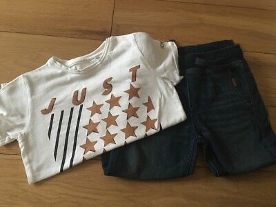 Boys Next Tshirt And Jeans Set Age 5-6