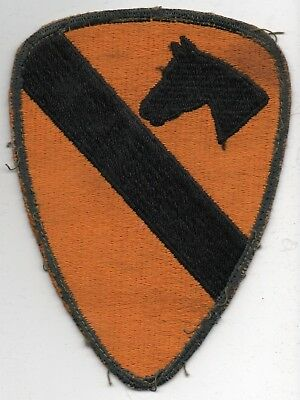 Vietnam Era US Army 1st CAVALRY Division Flat Edge Patch