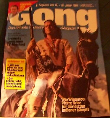 Gong 2/1980 - Winnetou Pierre Brice, Alfred Hitchcock