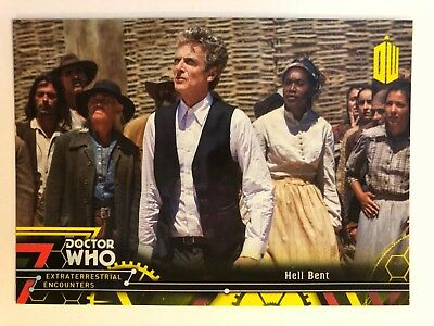 2016 Doctor Who Extraterrestrial Encounters #99 Hell Bent YELLOW NrMint-Mint
