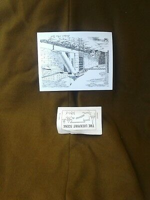 VINTAGE POSTCARD Lockport NY HAND SKETCHED Lock At The Erie Barge Canal