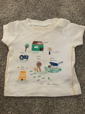 Newborn Mothercare T-shirt - Up To 1 Month Baby Boy