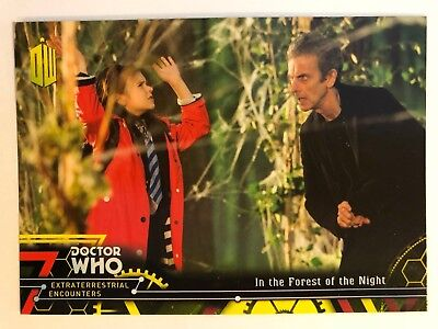 2016 Doctor Who Extraterrestrial Encounters 94 In the Forest of the Night YELLOW