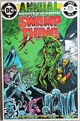 * SWAMP THING Annual 2 (NM+ 9.6) Justice League DARK  ORIGINAL OWNER Coll