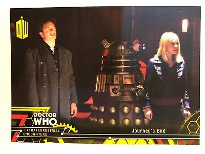 2016 Doctor Who Extraterrestrial Encounters #82 Journey's End YELLOW NM-Mint