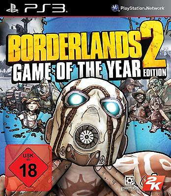 PS3 Game Borderlands 2 Goty Incl. 4 Add on ´S Game of the Year Edition New