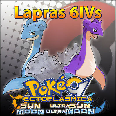 Lapras 6IV ☀️ Shiny or not 🌙 Battle Ready 6IVs Pokemon Sun Moon Ultra SM USUM