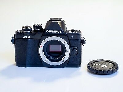 Olympus OM-D E-M10 Mark II Kit inkl. 14-42mm II R Objektiv schwarz black