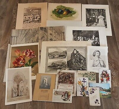 Prints/ postcards 19th- early 20th century