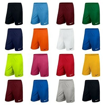 Nike Park Kids Boys Football Shorts Running Sports Training Gym Junior Dri Fit