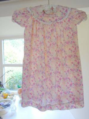 CHARMING VINTAGE LIBERTY of LONDON TANA LAWN HAND MADE CHILDREN'S DRESS~V.PRETTY