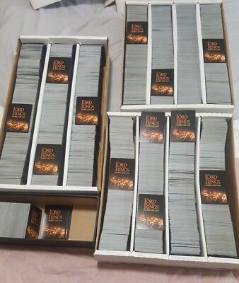 Lord Of The Rings Lotr Tcg/ccg Collection W/rares/ Foils Amazing 12000+ Card Lot
