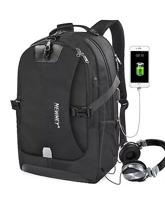 Laptop Backpack 17.3 Inch Travel Anti-theft Waterproof Backpack Business
