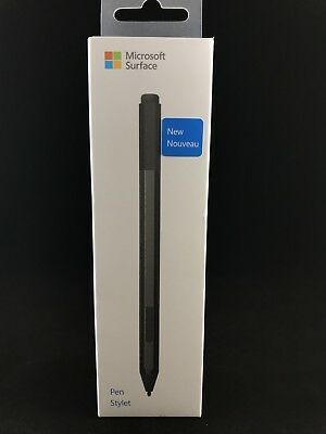 Microsoft Surface Pen / Stylus Black Model 1776 EYU-00001 Bluetooth 4.0 NIB