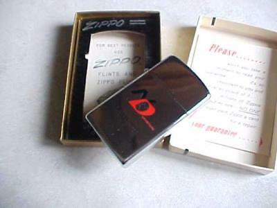 Vintage 1962 Zippo Lighter In Box New Old Stock New Departure Ball Bearings G.m.