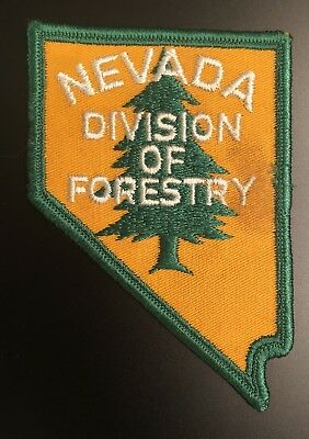 Nevada Division of Forestry Patch Game Warden Conservation DNR NV Police Patch