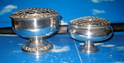 VINTAGE LARGE IANTHE SILVER PLATED ROSE BOWL Plus Other