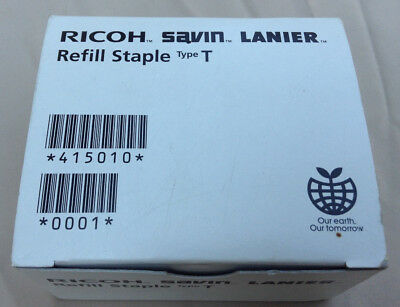 Ricoh Type T Refill Staples 415010 - 2 Cartridges Japan