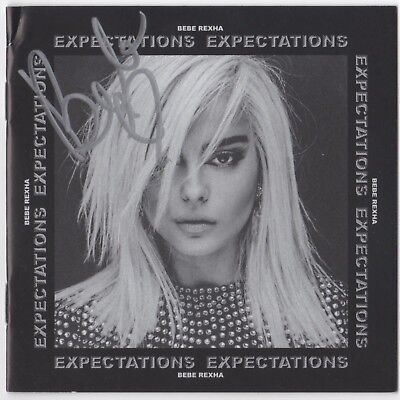 "Bebe Rexha ""Expectations"" Signed CD Debut Album Autographed Meant To Be"