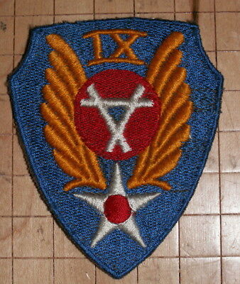 WWII 9th Aviation Engineer British Made Patch