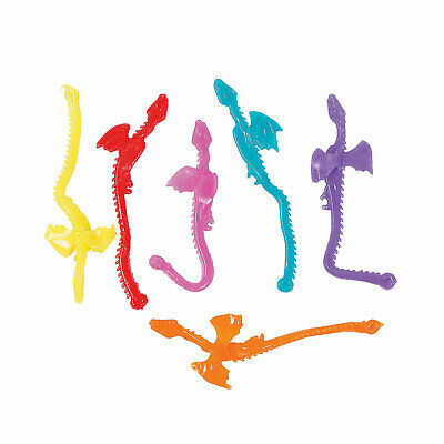 24 Sticky Lizards On String Reptile Party Favors Luau Birthday Boys