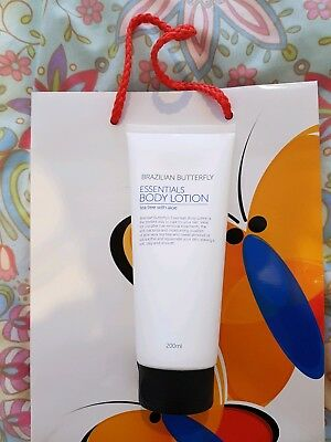 Brand new, unopened Brazilian Butterfly Body Lotion. 200mls. Unwanted present