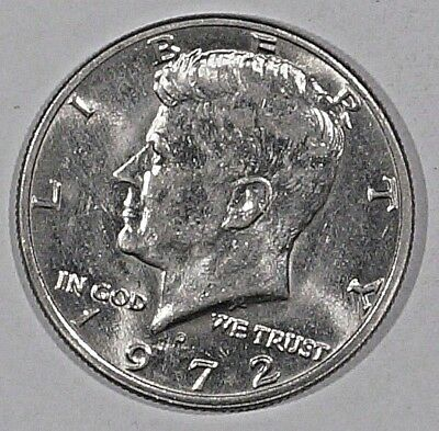 Kennedy Half dollar 1972-D UNITED STATES Denver mint (531)