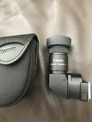 Canon Right Angle Finder C With 2 Magnifications.