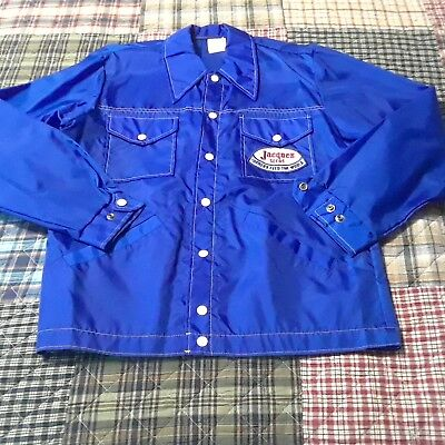 Vintage Jacques Seeds Farmers Feed the World windbreaker jacket size large L