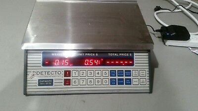 Cardinal Detecto PC-30 A Price Computing Scale-30lb capaity WORKS w/ FREE SHIP
