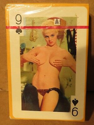 Vintage Gaiety Nude Naked Woman Models Playing Cards Sealed and Never Opened