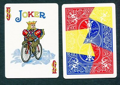 2x FULL COLOR JOKER - Very Limited print run - US Playing Card Co - Bicycle back