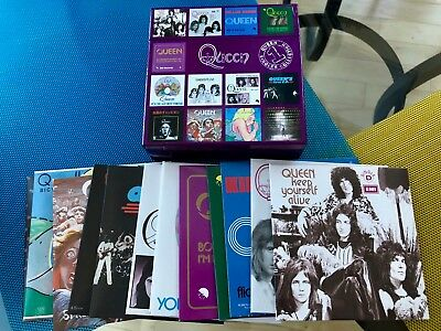 Queen The Singles Collection Volume 1 CD Box Set Like New! Freddie Mercury