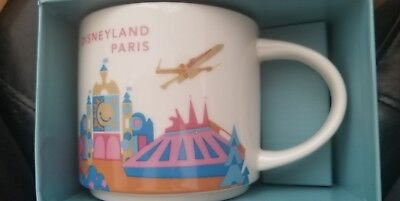 Starbucks Disneyland Paris Mug (Disney Paris You Are Here Mug)