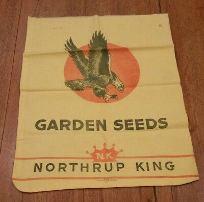 Vintage Garden Seeds Farm Northrup King Bald Eagle Mpls Minnesota Minneapolis NK