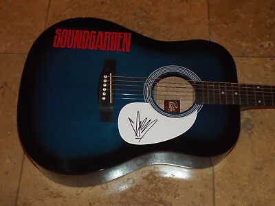 Chris Cornell Signed Guitar Soundgarden  Autographed  GUITAR IS NICE