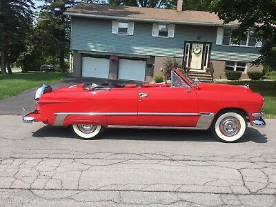 1950 Ford Other  1950 FORD CUSTOM CONVERTIBLE - RESTORED - MANY ACCESSORIES - W/OVERDRIVE