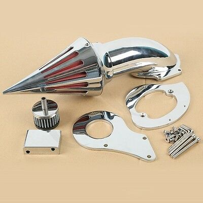 Chrome Air Cleaner Intake Filter For Honda Shadow VLX600 1999-2012 2000 01 02 03
