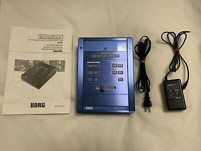 Used! KORG krossfour KF4 4ch Video Mixer Switcher
