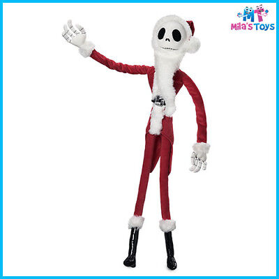 Tim Burton's The Nightmare Before Christmas Jack Skellington Sandy Claws Plush