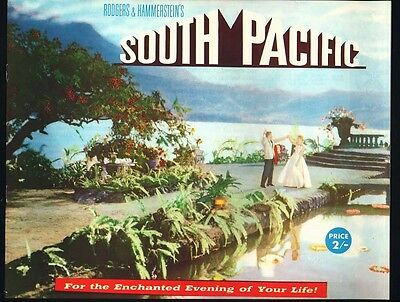 OLD  film booklet Rogers & Hammersteins  nd. c.1950's South Pacific