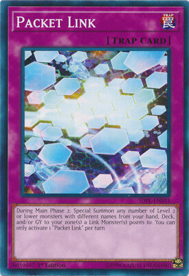 Yugioh! Packet Link - SDPL-EN031 - Common - 1st Edition Near Mint, English