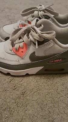 Nike Air Max Trainers Girls Size 10.5 Infant Uk