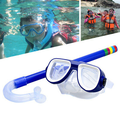 Water Sports Child Summer Swim Swimming Goggles Set with 1PCS Breathing tube US&