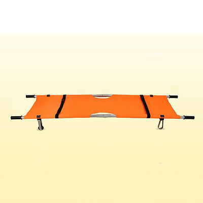New Foldable Stretcher Medical/Home Patient Emergency Stretcher Bed Aluminum UDD