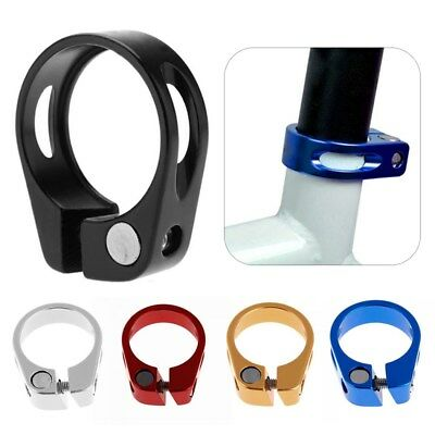 34.9mm 31.8mm MTB Bike Cycling Saddle Bicycle Seat Post Clamp Aluminum Alloy