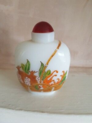 Chinese Stunning Snuff Bottle ( Larger Than  Most)